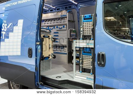 Iveco Van With Sortimo In-vehicle Storage Equipment