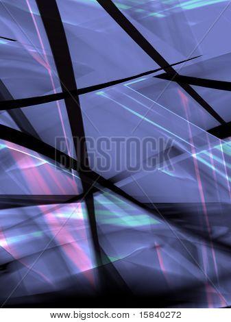 Abstract shapes, fabrics