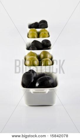 olives in jars