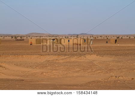 The Villages in the Sahara in Sudan