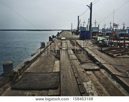 Fishery Boat Seascape Nautical Vessel Nature Concept