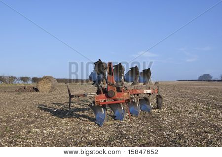 Four Furrow Plow