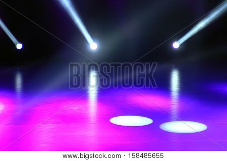 Concert Light Show, Stage Lights, Colorful Stage Lights, Light Show
