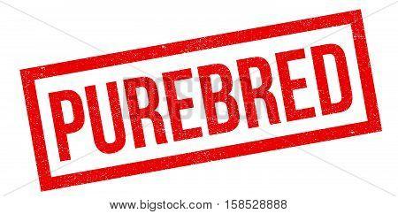 Purebred Rubber Stamp