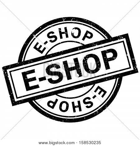E-shop Rubber Stamp