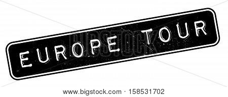 Europe Tour Rubber Stamp