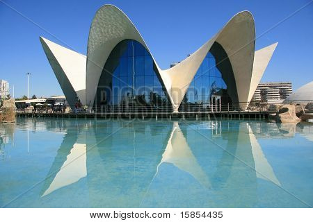 view of oceacographic in Valencia