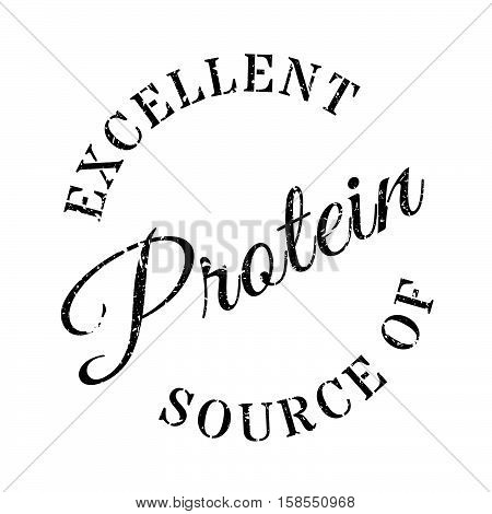 Excellent Source Of Protein Stamp