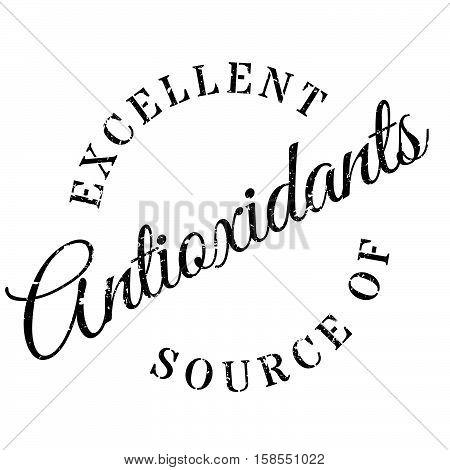Excellent Source Of Antioxidants Stamp