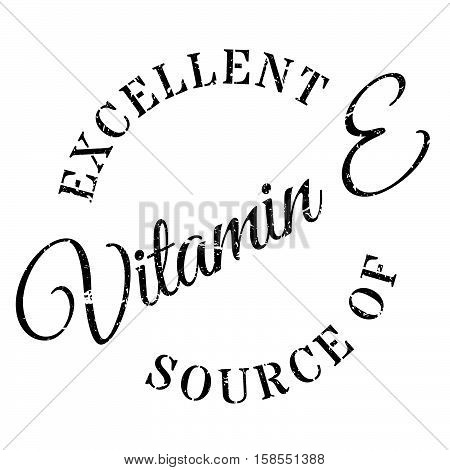 Excellent Source Of Vitamin E Stamp