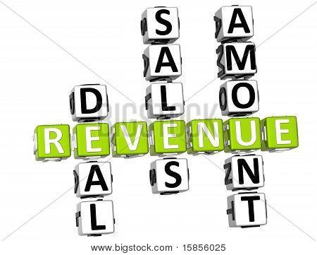 Crucigrama de ingresos
