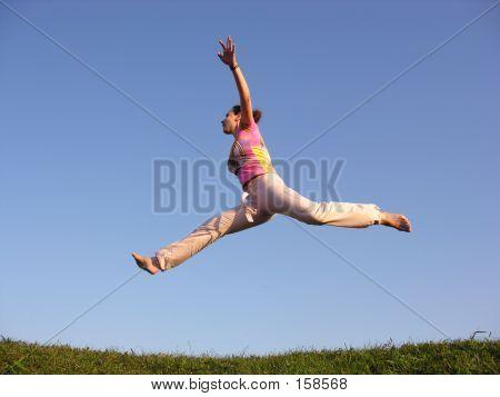 Fly Jump Girl