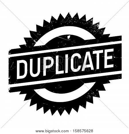 Duplicate Stamp