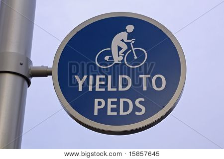 Yield To Peds