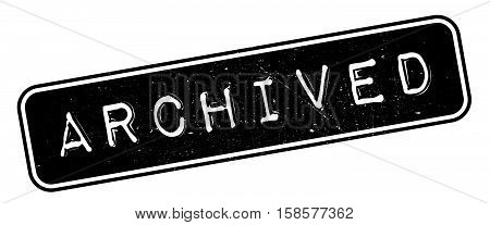 Archived Rubber Stamp