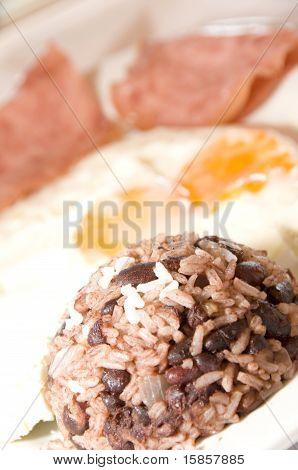 Gallo Pinto Nicaraguan Breakfast