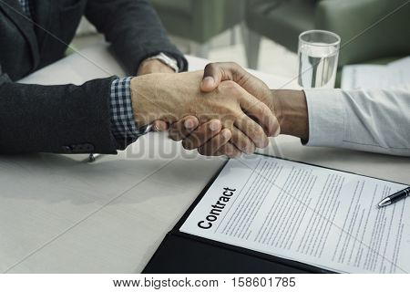 Business Discussion Talking Deal