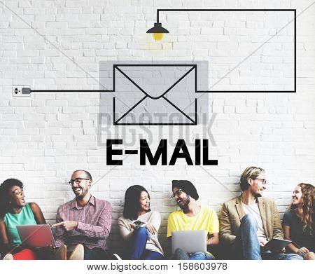 E-mail Message Inbox Communication