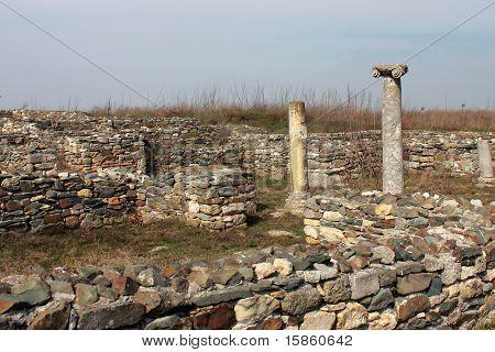 Roman ruins - columns