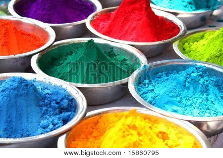 Colors Of Holi
