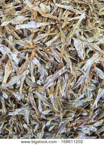 Sun dried fish , it is the way of preserving fish was to let the wind and sun dry it. Drying food is the world's oldest known preservation method, and dried fish has a storage life