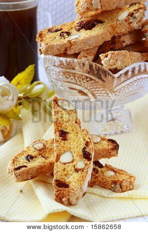 traditional Italian biscotti cookies