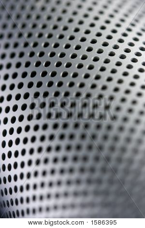 Perforated Curved Metal