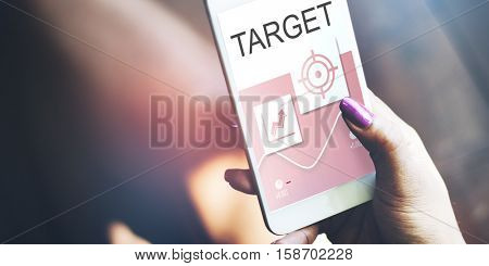 Target Aim Aspiration Goal Customer Mission Concept