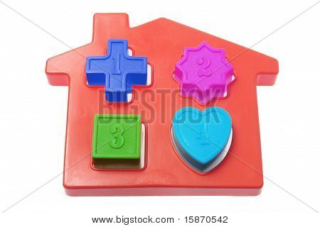 House Shape Sorter Toy