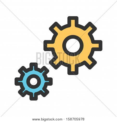 Service, technical, support icon vector image. Can also be used for startup. Suitable for use on web apps, mobile apps and print media.