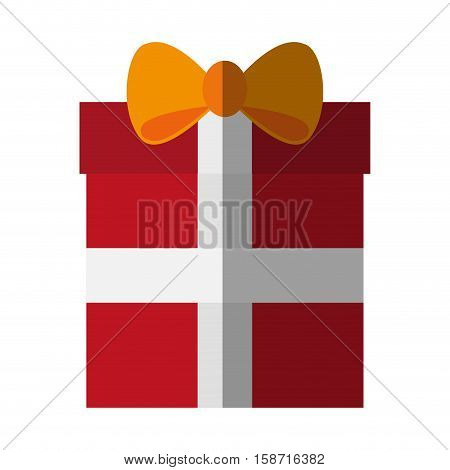 Gift icon. Shopping commerce market store and shop theme. Isolated design. Vector illustration