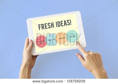 Innovation Start up Creative Concept