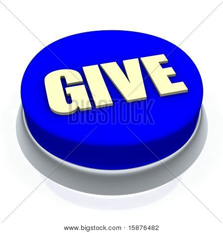 Give round button 3d