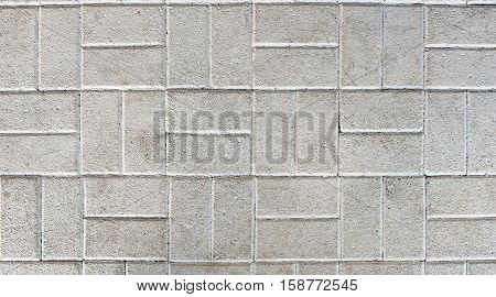 Concrete Or Cobble Gray Pavement Slabs Or Stones.