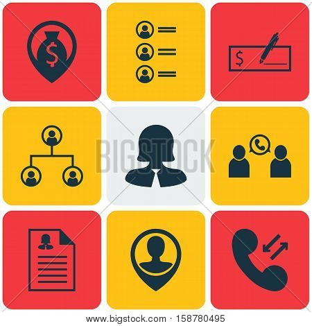 Set Of Hr Icons On Cellular Data, Bank Payment And Money Navigation Topics. Editable Vector Illustration. Includes Organisation, Map, Applicants And More Vector Icons.