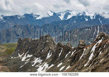 Tian Shan mountains. Karakol, Kyrgyzstan.