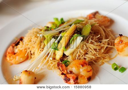 Special Seafood Noodles