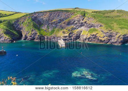 Popular Port Issac Atlantic ocean coast, Cornwall, England, United Kingdom