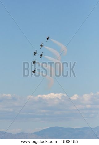 Jet Fighter Formation