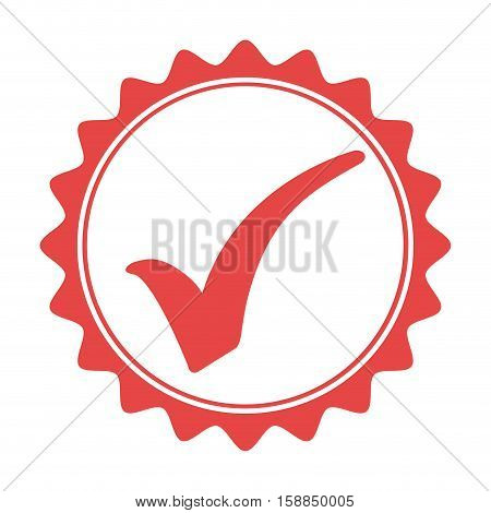 Quality seal guaranteed icon vector illustration design