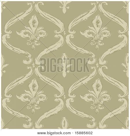 Vector Distressed FleurDeLys Background
