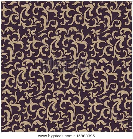 Detailed seamless pattern. Repeating pattern is included as a swatch for easily creating large fills. Colors are very easy to change.