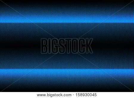 blue striped metallic background with embossed texture closeup