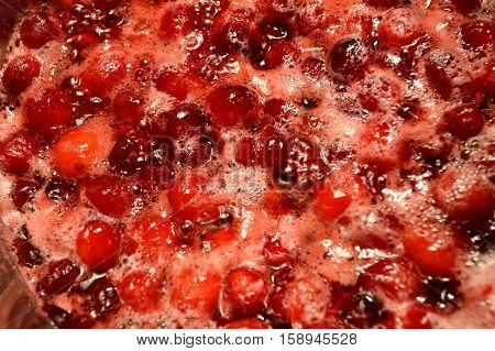 Cooking Cranberry Sauce
