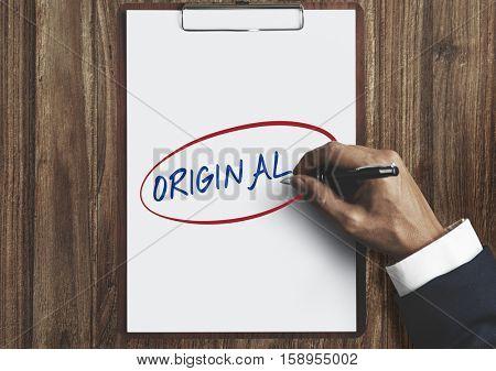 Original Character Individual Unique Different Concept