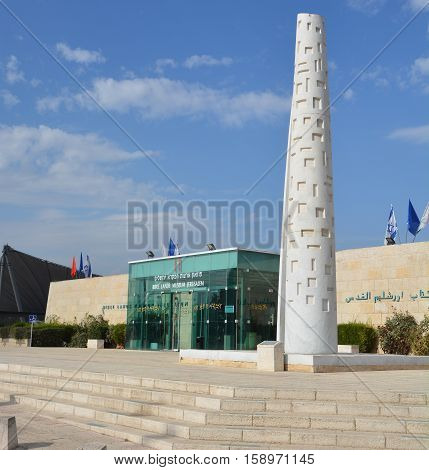 JERUSALEM ISRAEL 24 10 16: Bible Lands Museum explores the culture of the peoples mentioned in the Bible, Egyptians, Canaanites, Philistines, Arameans, Hittites, Elamites, Phoenicians and Persians.
