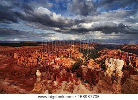 Bryce Canyon, Inspiration Point, Utah, USA