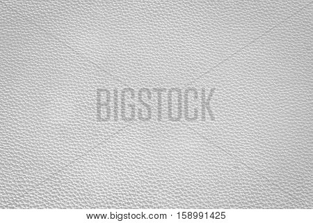 Texture white and bronze color leather close-up horizontal position