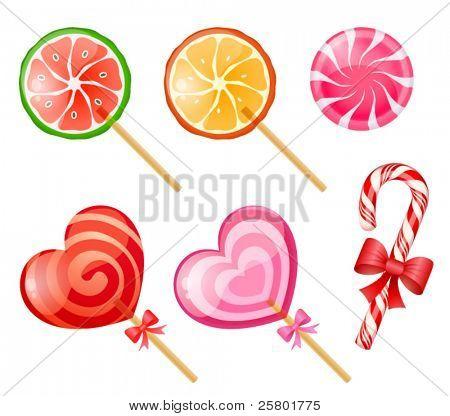 Süßigkeiten Satz