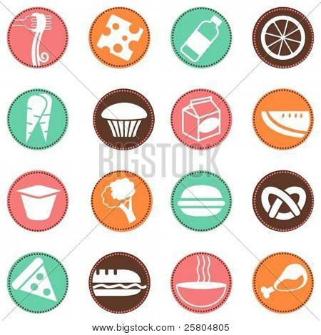 fresh food icons 2
